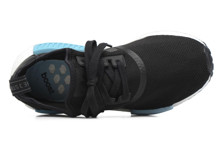 Sneaker Adidas Originals Nmd_R1 W blau ansicht von links