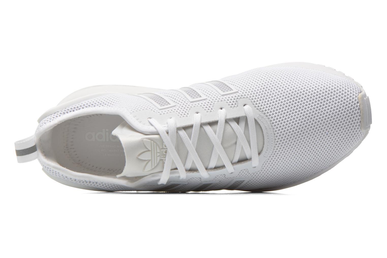 Baskets Adidas Originals Zx Flux Adv Blanc vue gauche