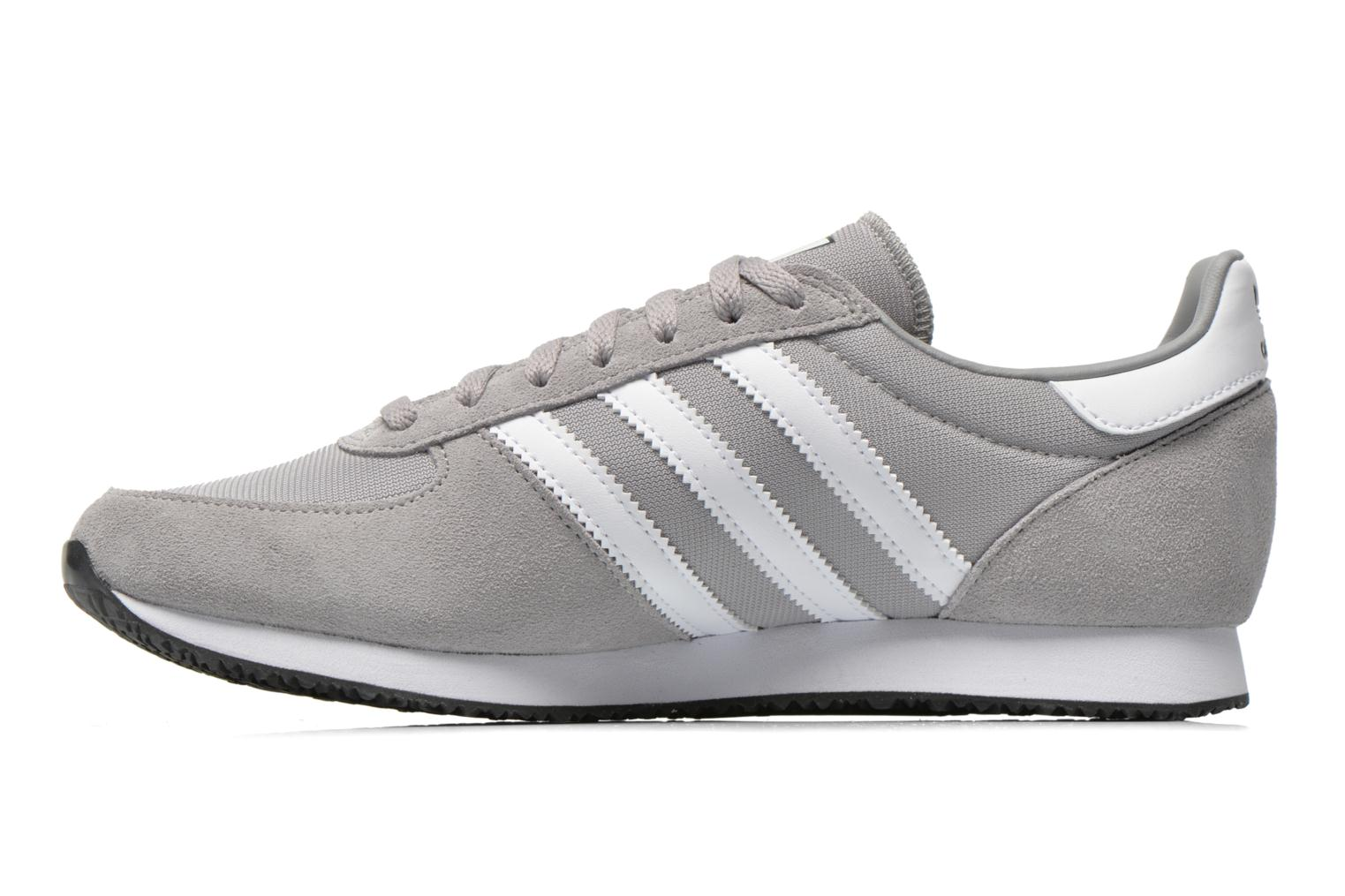 Baskets Adidas Originals Zx Racer Gris vue face