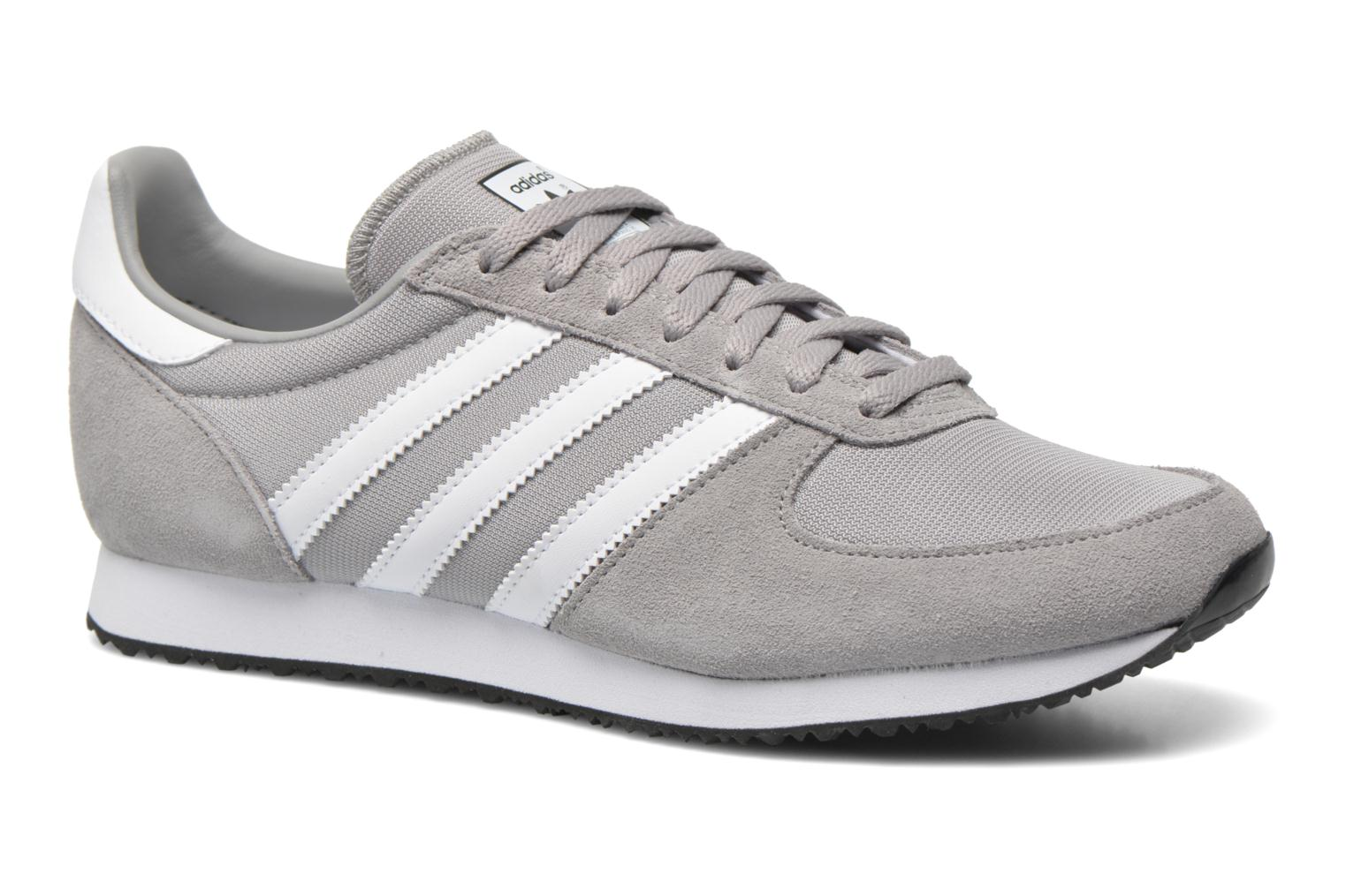Baskets Adidas Originals Zx Racer Gris vue détail/paire