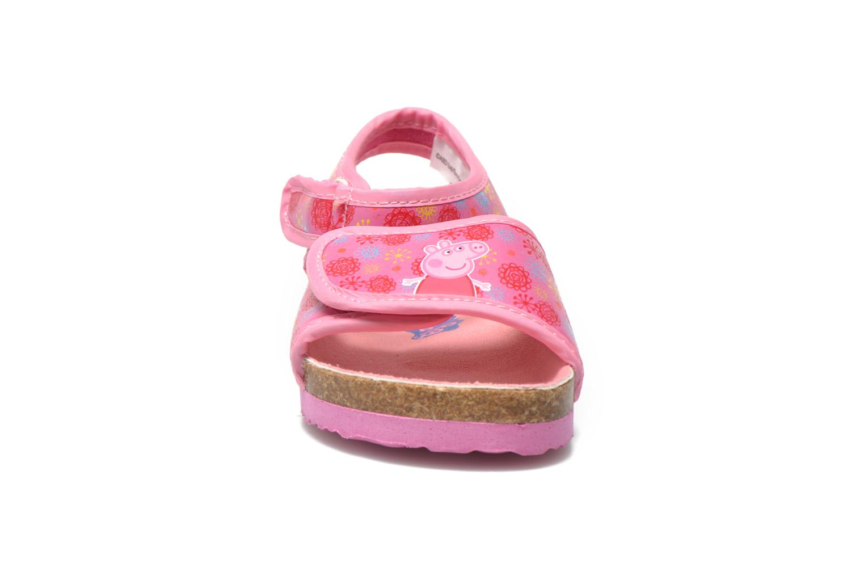 Sandales et nu-pieds Peppa Pig Fedoul Rose vue portées chaussures