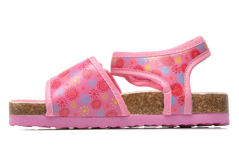 Sandales et nu-pieds Peppa Pig Fedoul Rose vue face