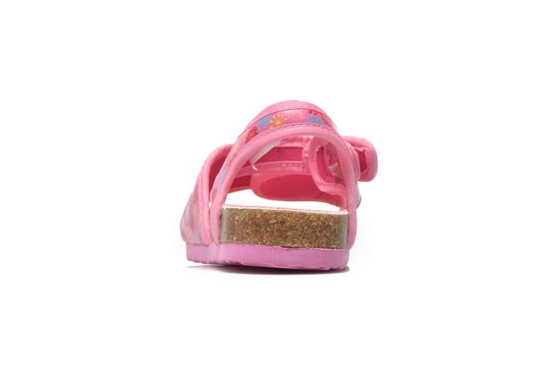 Sandales et nu-pieds Peppa Pig Fedoul Rose vue droite