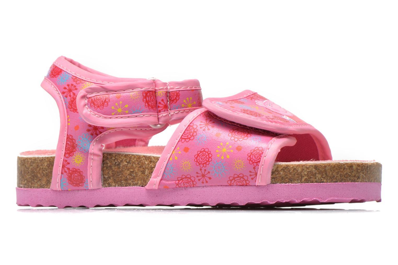 Sandales et nu-pieds Peppa Pig Fedoul Rose vue derrière