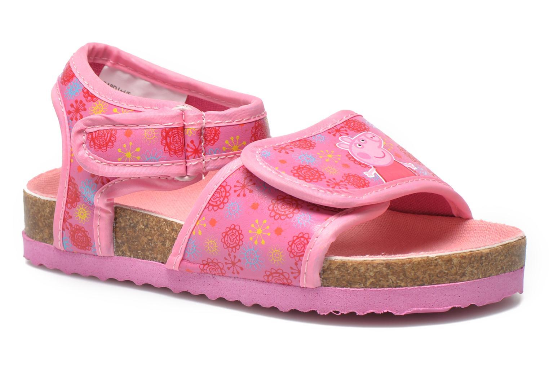Sandales et nu-pieds Peppa Pig Fedoul Rose vue détail/paire
