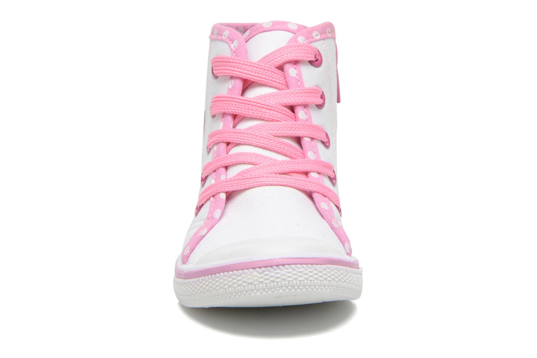 Baskets Hello Kitty Hk Lundi Blanc vue portées chaussures