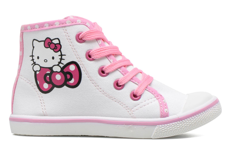 Baskets Hello Kitty Hk Lundi Blanc vue derrière