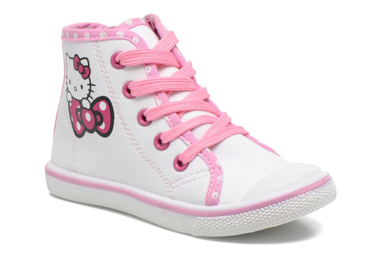Baskets Hello Kitty Hk Lundi Blanc vue détail/paire