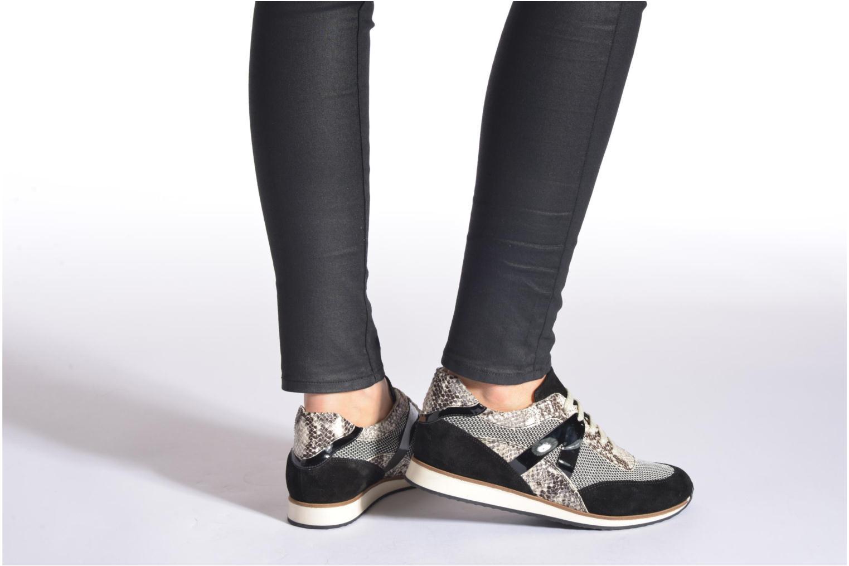 Sneakers Georgia Rose Lamette Azzurro immagine dal basso