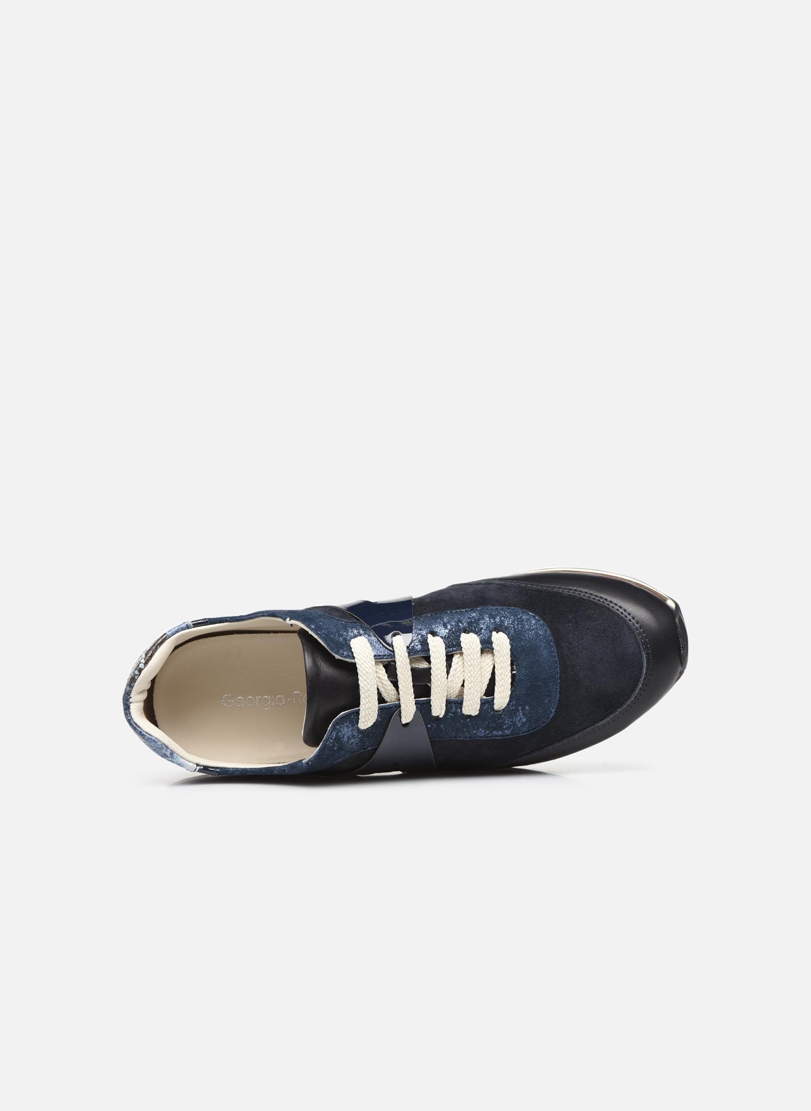 Sneakers Georgia Rose Lamette Azzurro immagine sinistra