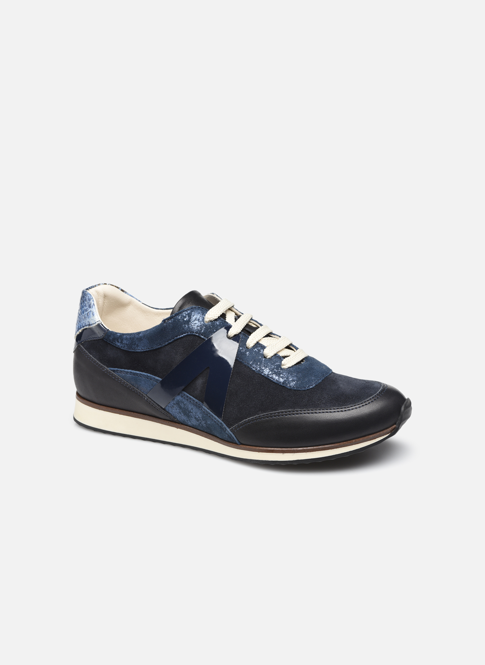 Sneakers Georgia Rose Lamette Azzurro vedi dettaglio/paio