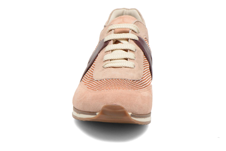 Baskets Georgia Rose Lamette Rose vue portées chaussures