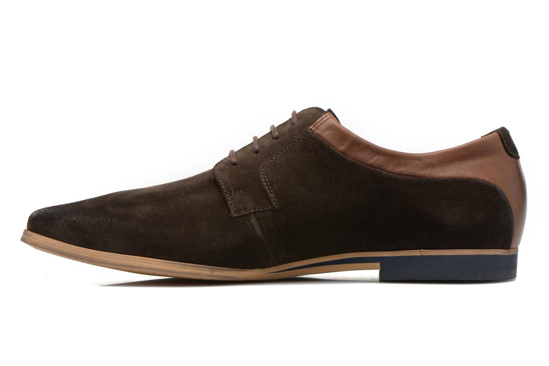 Chaussures à lacets Kost Epieu Marron vue face