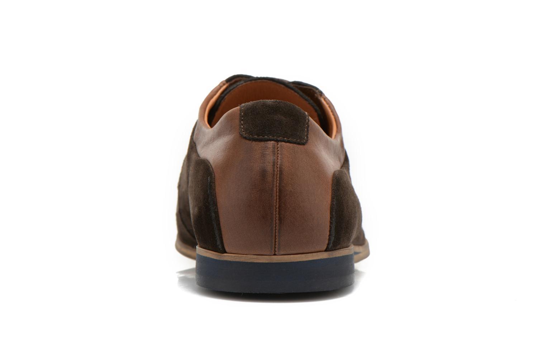 Chaussures à lacets Kost Epieu Marron vue droite