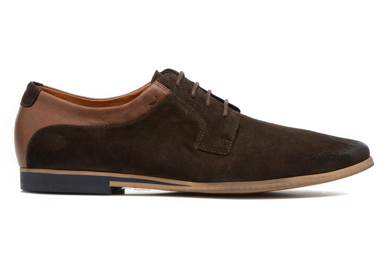 Chaussures à lacets Kost Epieu Marron vue derrière
