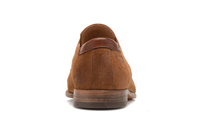 Zapatos con cordones Kost Snape Marrón vista lateral derecha