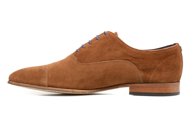 Chaussures à lacets Azzaro Xicola Marron vue face