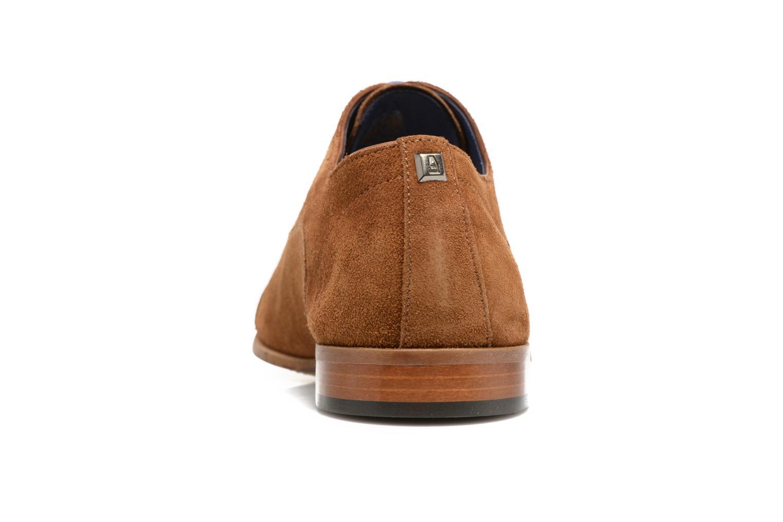 Chaussures à lacets Azzaro Xicola Marron vue droite