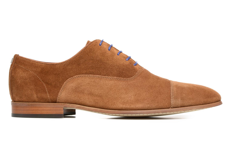 Chaussures à lacets Azzaro Xicola Marron vue derrière