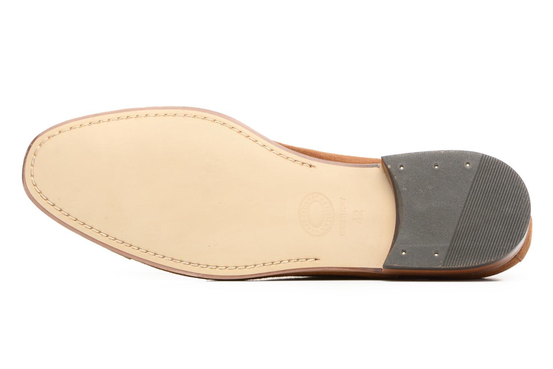 Chaussures à lacets Azzaro Xicola Marron vue haut