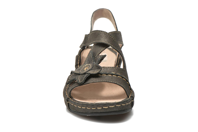 Sandales et nu-pieds TBS Easy Walk Vorael Noir vue portées chaussures