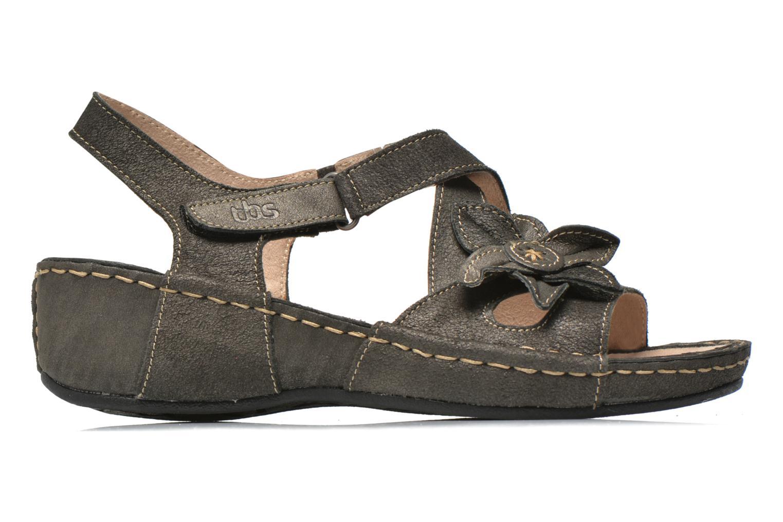 Sandales et nu-pieds TBS Easy Walk Vorael Noir vue derrière