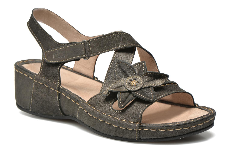 Sandals TBS Easy Walk Vorael Black detailed view/ Pair view