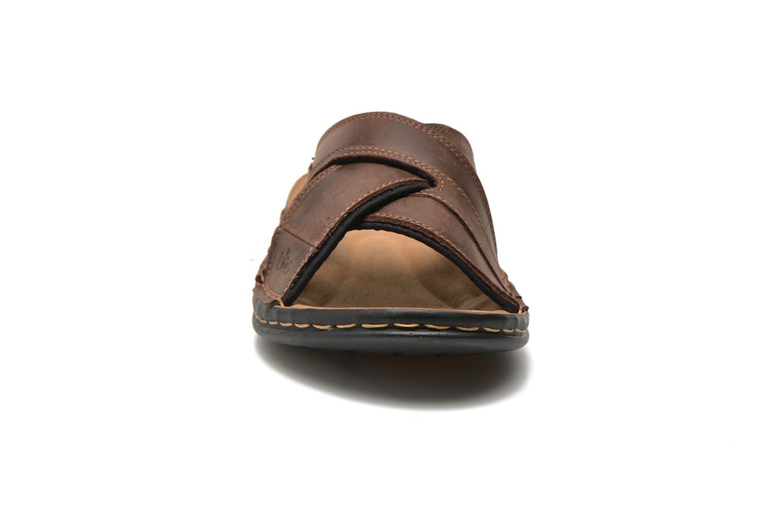 Sandalen TBS Easy Walk Benaix braun schuhe getragen