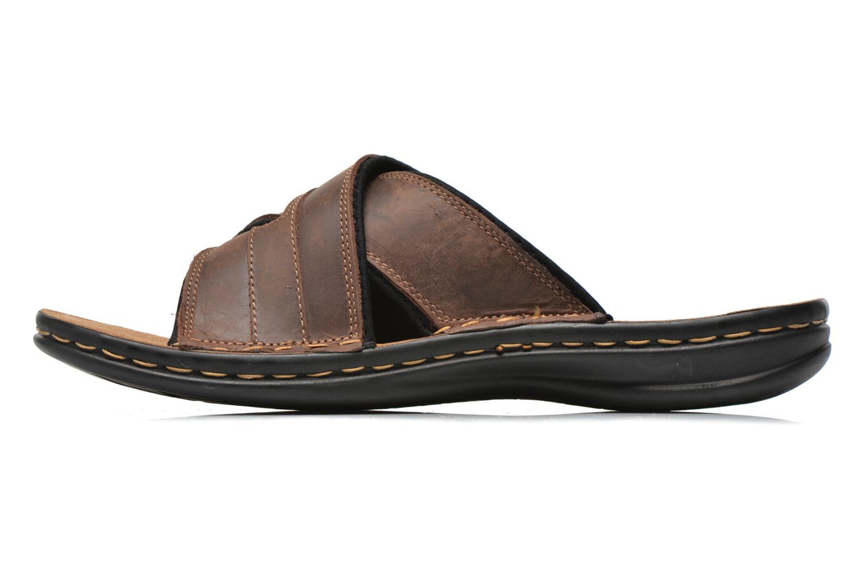 Sandales et nu-pieds TBS Easy Walk Benaix Marron vue face