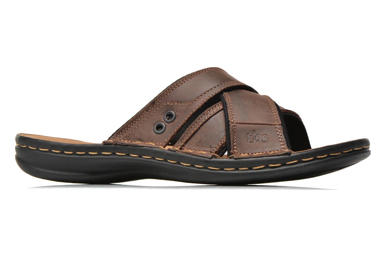 Sandales et nu-pieds TBS Easy Walk Benaix Marron vue derrière
