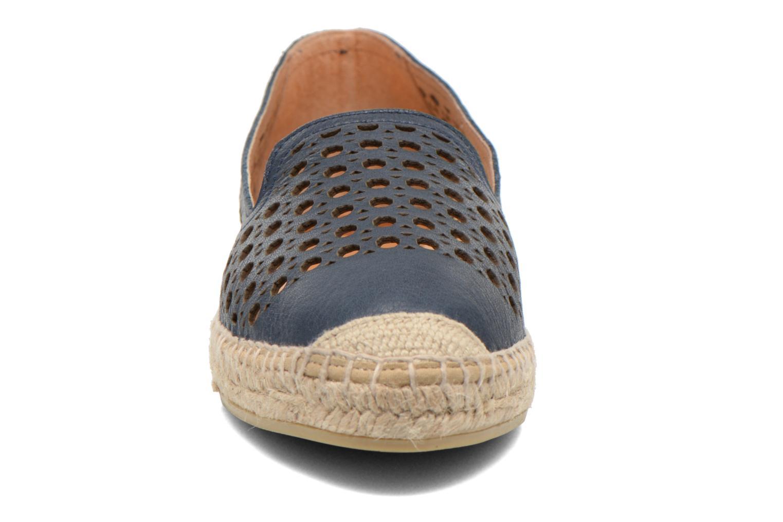 Espadrilles Kanna Manolito Bleu vue portées chaussures