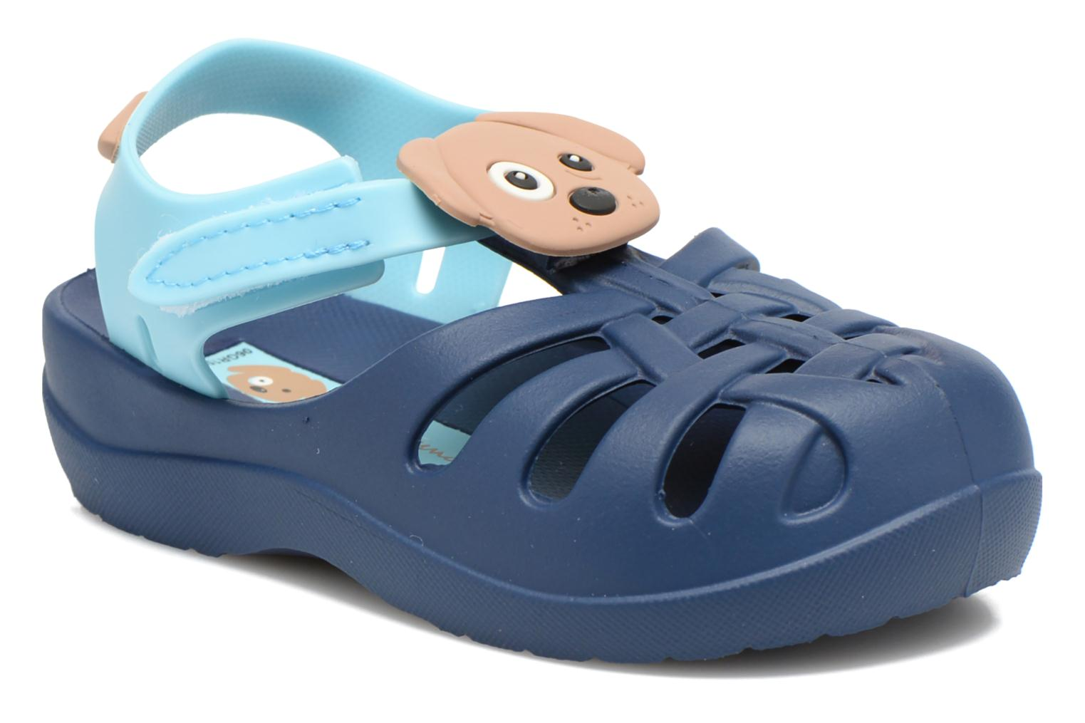 Sandals Ipanema Summer II Baby Blue detailed view/ Pair view