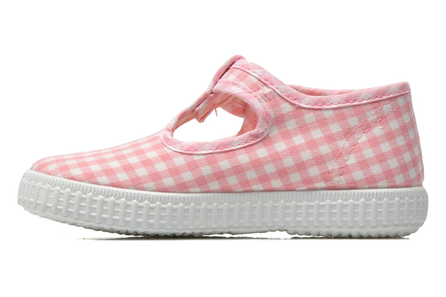 Sneakers Cienta Foliv Rosa immagine frontale
