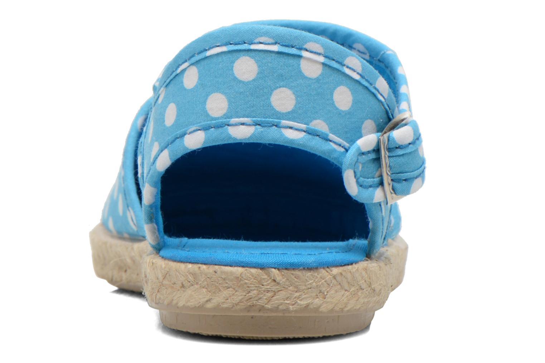 Sandales et nu-pieds Cienta Margot Bleu vue droite