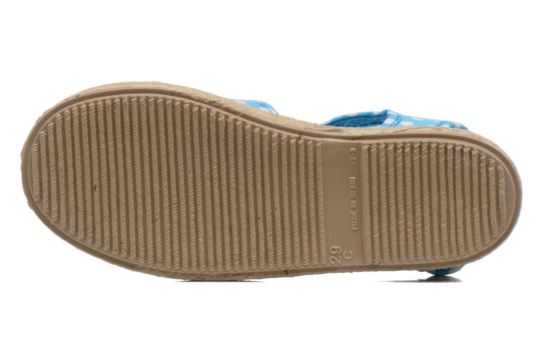 Sandales et nu-pieds Cienta Margot Bleu vue haut