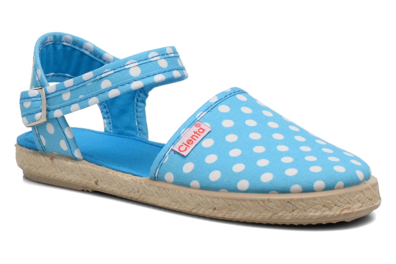 Sandales et nu-pieds Cienta Margot Bleu vue détail/paire