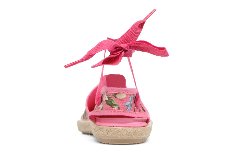 Sandales et nu-pieds Cienta Alicia Rose vue droite
