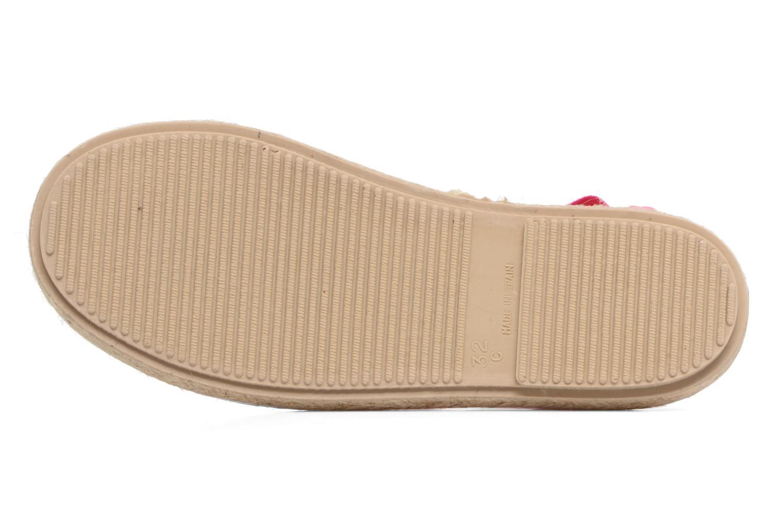 Sandales et nu-pieds Cienta Alicia Rose vue haut