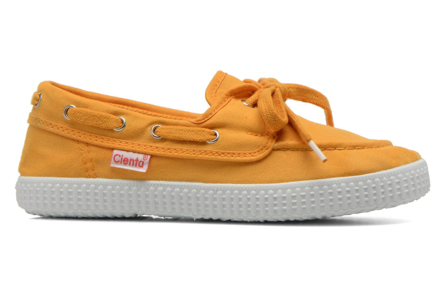 Lace-up shoes Cienta Martino Yellow back view