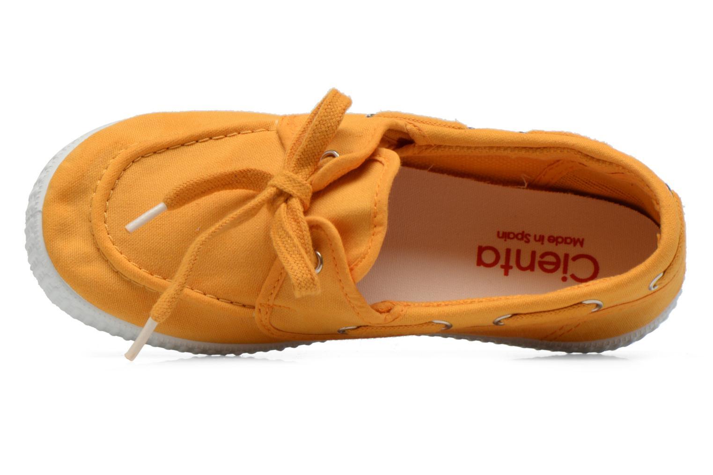 Chaussures à lacets Cienta Martino Jaune vue gauche