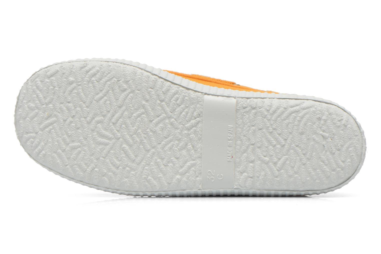 Chaussures à lacets Cienta Martino Jaune vue haut
