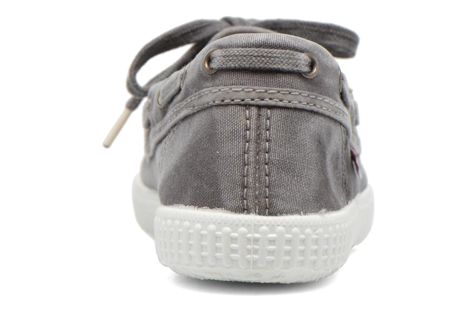 Lace-up shoes Cienta Martino Grey view from the right