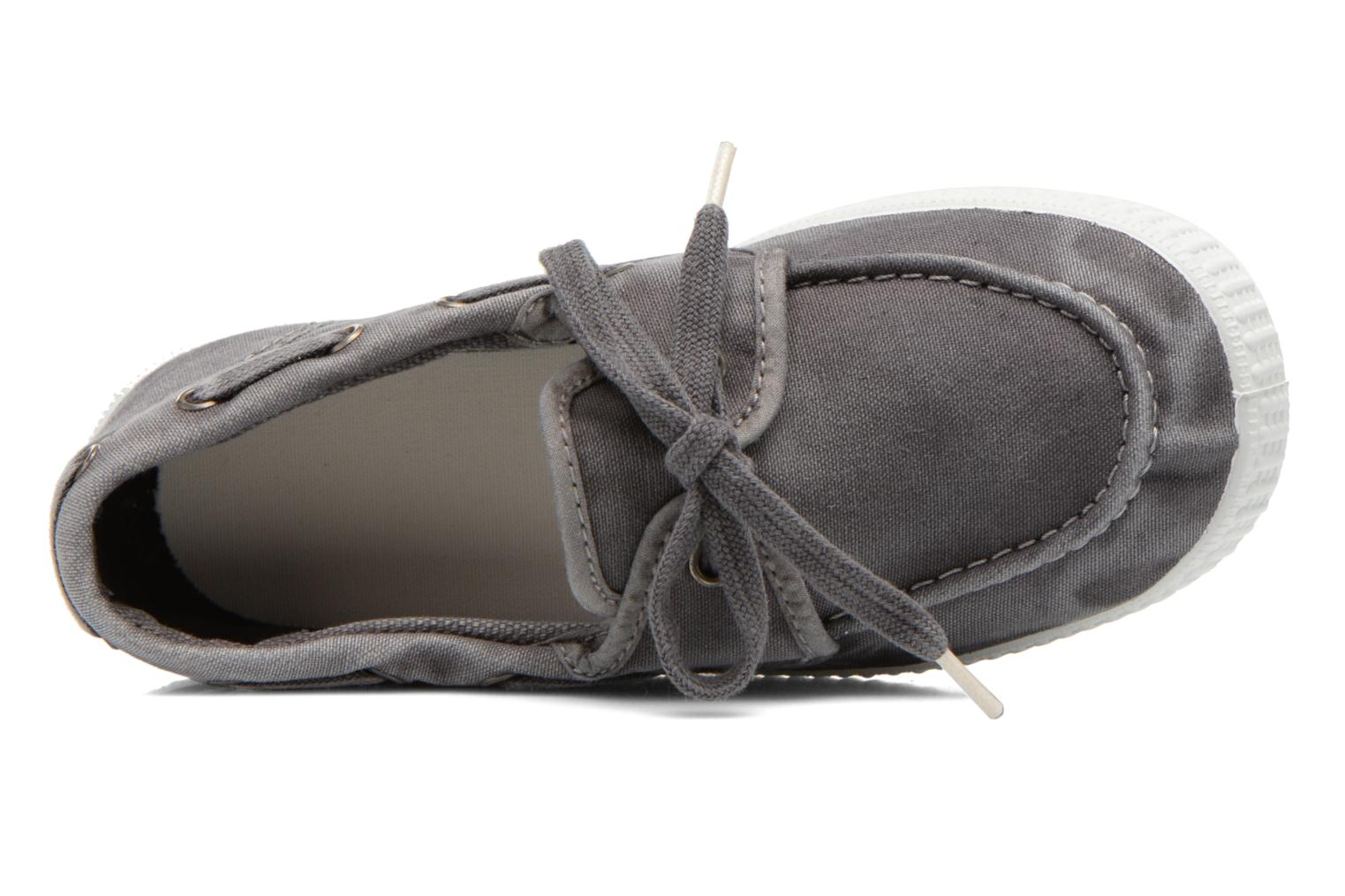 Lace-up shoes Cienta Martino Grey view from the left