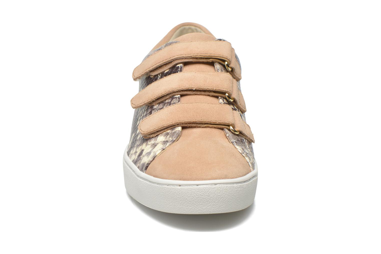 Baskets Michael Michael Kors Craig Sneaker Marron vue portées chaussures