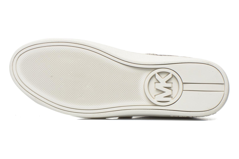 Baskets Michael Michael Kors Craig Sneaker Marron vue haut