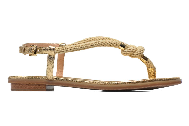 Sandales et nu-pieds Michael Michael Kors Holly Sandal Or et bronze vue derrière