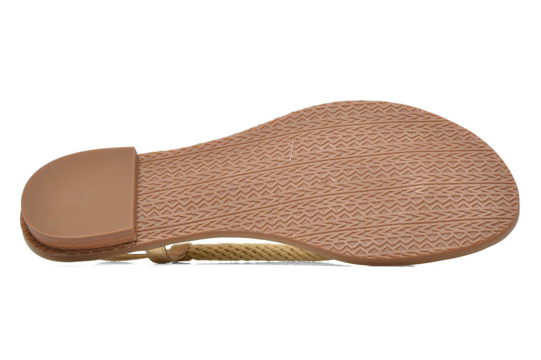 Sandales et nu-pieds Michael Michael Kors Holly Sandal Or et bronze vue haut