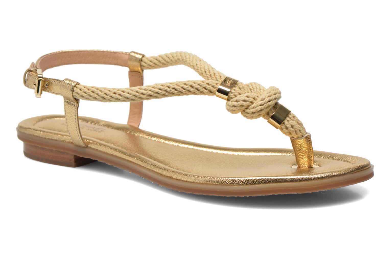 Sandales et nu-pieds Michael Michael Kors Holly Sandal Or et bronze vue détail/paire