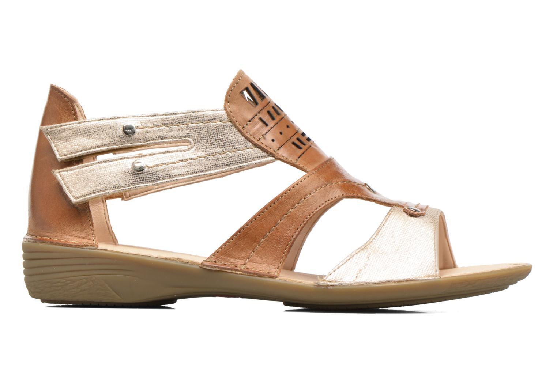 Sandales et nu-pieds Dorking Oda 6769 Marron vue derrière