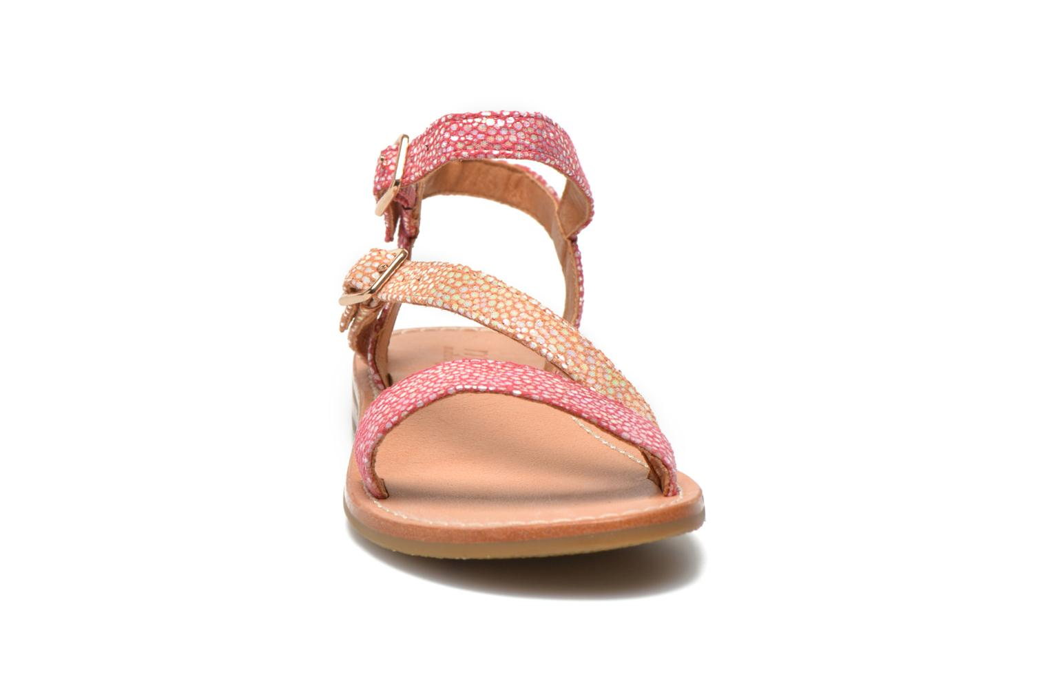 Sandals Mellow Yellow Mnvaloma Pink model view